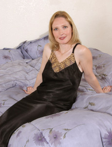 Hot Soft Carrie Stirips out of Her  Attire and Plays on the Bed