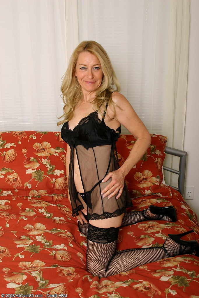 50 Year Old  Mom Looking  Steamy in and out of Her Knickers 