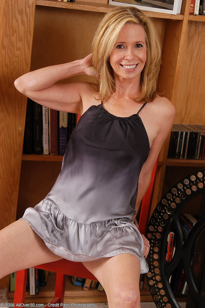 54 Year Old Marie Kelly  Opening Up Her  Hot Legs for Us