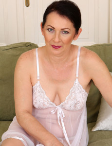 Hot 50 Year Old Anna B from  Milfs30 Showcasing off Her  Bushy Pits