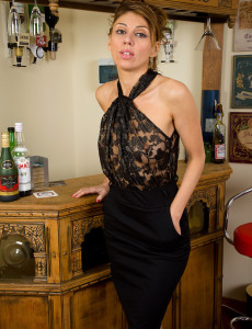 Slim and Elegant Chloe Shows off Her 34 Year Old  Nude Body Here