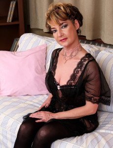 Lacy 42 Year Old Eszti from  Milfs30  Opens Her Hairy Honeypot Here
