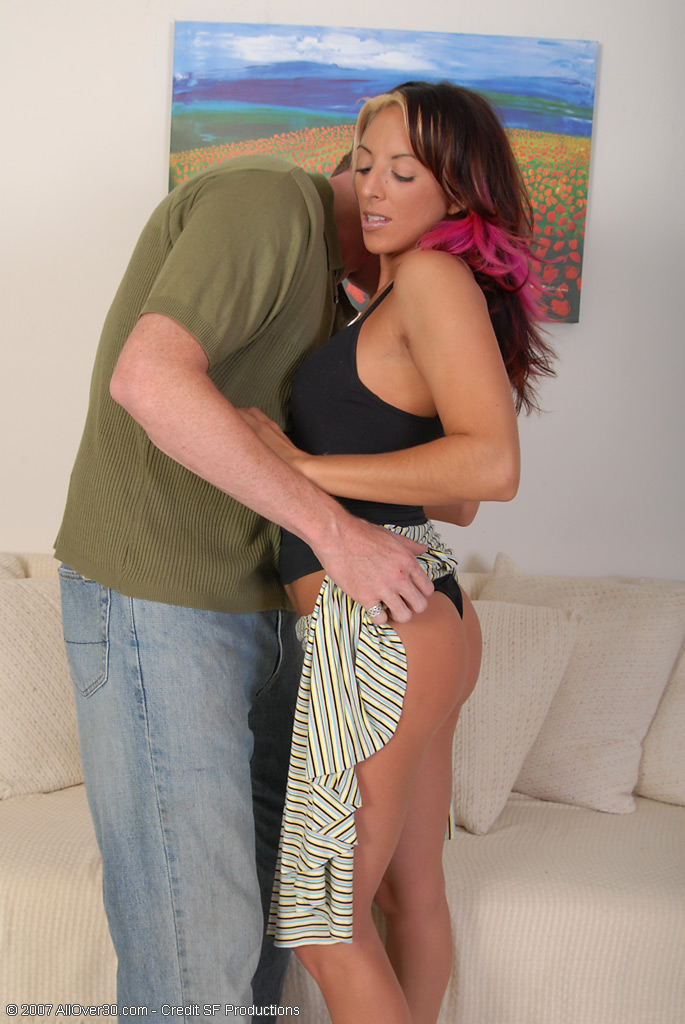 Gabrielah Rails a Young Hard Cock Like It's Going out of Style Here