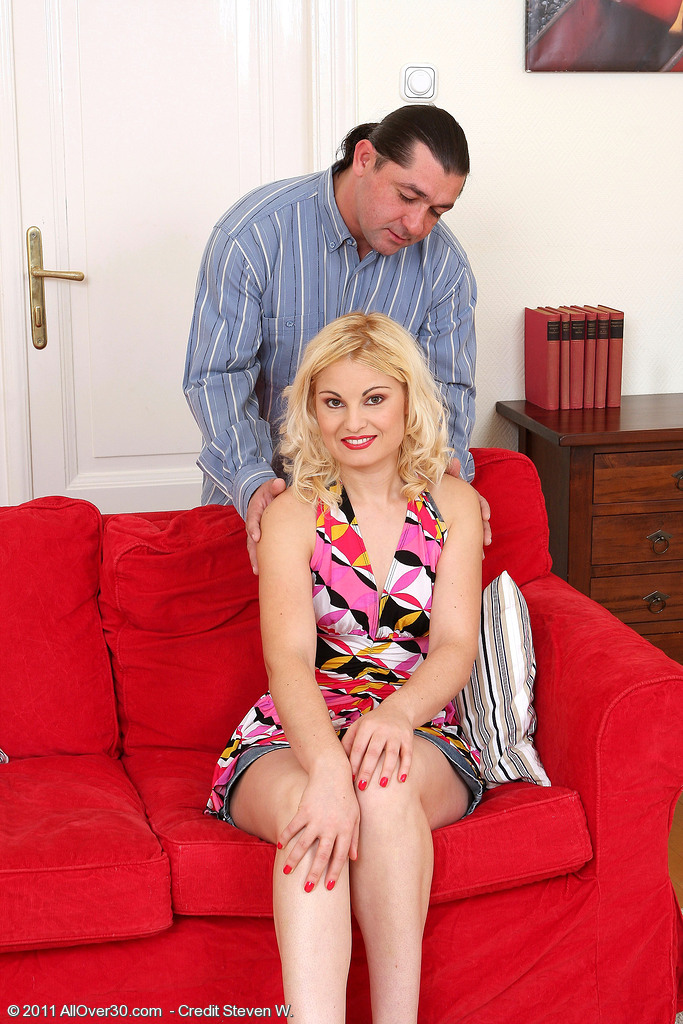 Ionella Plants Her 30 Year Old  Twat Rigidly on Rock Hard Cock in Here