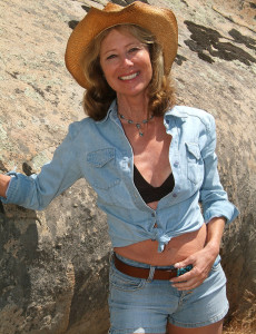 61 Year Old Janet L Peels of Her Blue Denim and Opens on