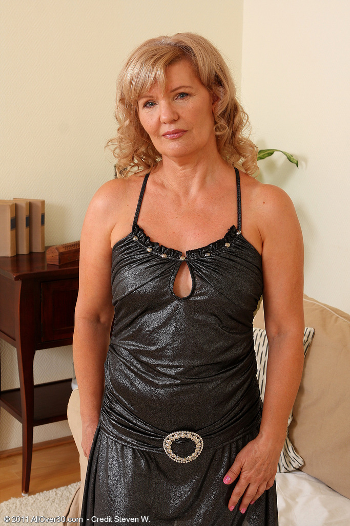 At 57 Years of Age Hot Looking Lena F Looks Wonderful  Opening Up