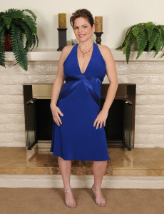 Looking Great is Elegant Marie Michaels  Opening Up for the Camera