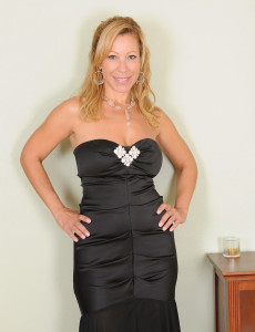 All  All Inborn Titted Rachel from  Milfs30 in and out of a Ebony Evening Dress