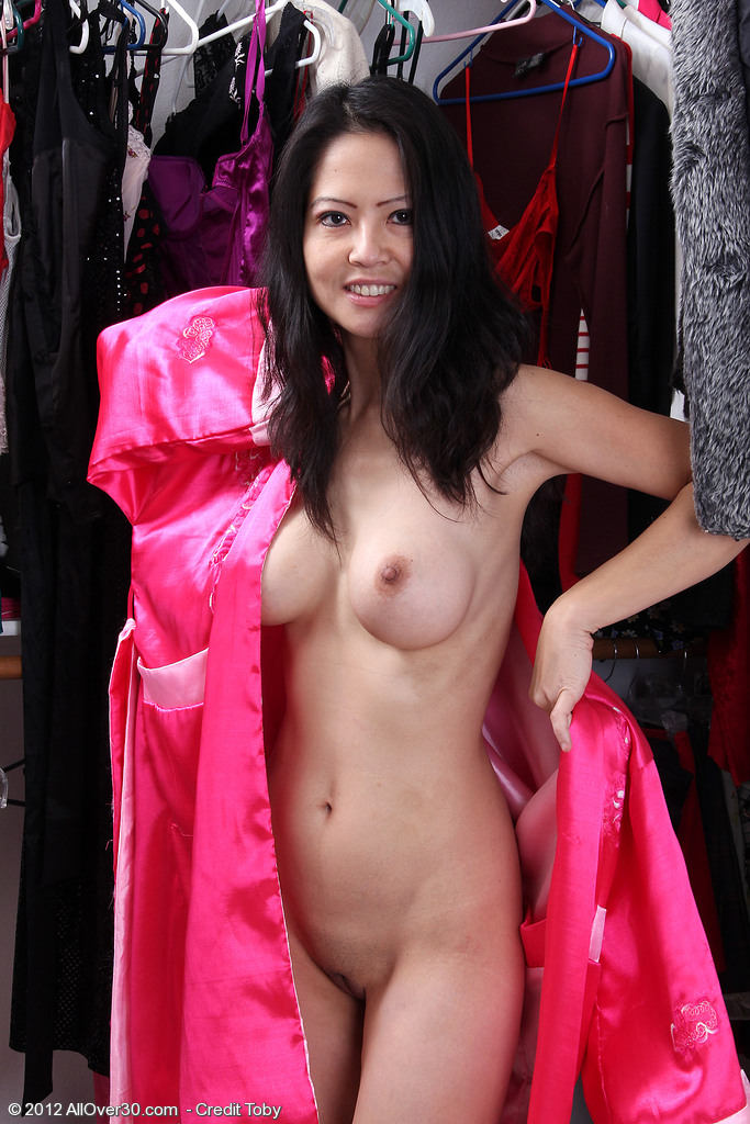 Exotic  Mom Ruby Mercy Shows off Her 42 Year Old Asian Body Here