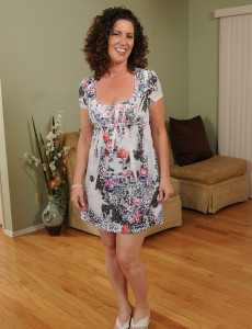 Alluring  Older Babe  Brown Haired  Wifey