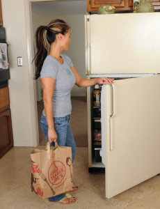 Exotic  Wifey Trish Strps  Naked in Front of Her Fridge in Here