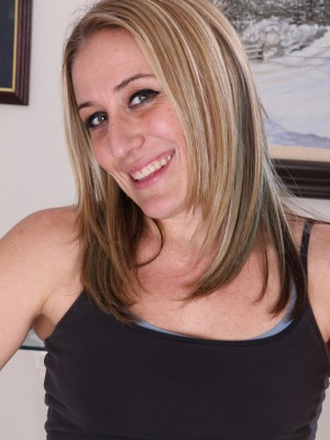 Blond Haired Limber Opportunity from  Milfs30 Does Some  Nude Excercises