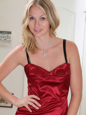 Super Horny and Elegant Lara Elaine  Takes off off Her Evening Dress for You Personally