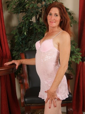 46 yr old and Redheaded Monica E Glides from girl Slinky Ligerie