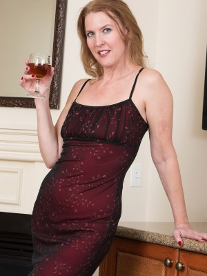 Passionate Lacy F Appears Amazing Inside Her Red Dress As She Showcases Those Longer Gorgeous Gams