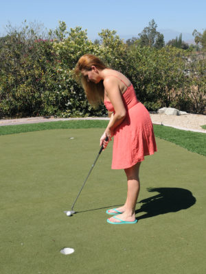 Hot Elexis Monroe Has Golf