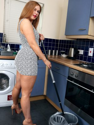 Anna Joy Does Some Housework