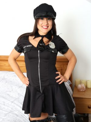 Hot Officer Lucy Enjoy
