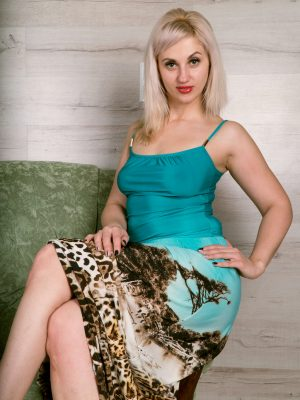 Jattine Leopard Skirt