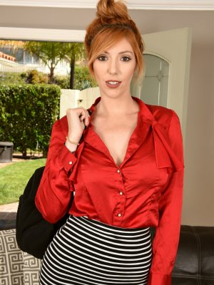 Lauren Phillips Smokin Hot Redhead