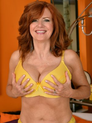 Andi James Redhead In Yellow