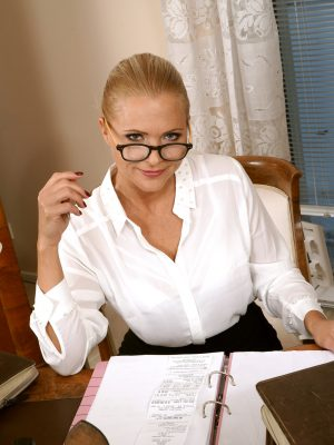 Marlene Provocative Secretary