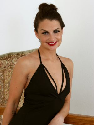 Alice Jensen Gorgeous Black Dress