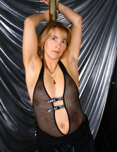 Kate M. Plays a Fur Covered Stripper and Puts on a Great Hairy Show