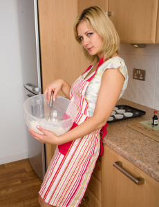 Tight Pussied  Mom Laurita Cooks Up More Than Cookies in Here