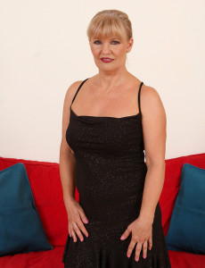 Hot and Elegant Lena F Shows off Her Great 57 Year Old Body