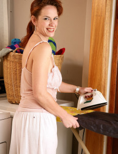 Redheaded  Mom Megan from  Milfs30 Decides to Strip Just for You