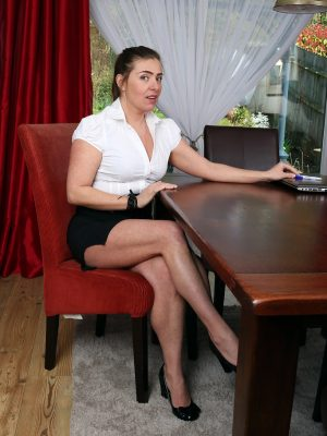 Insatiable Secretary Karen