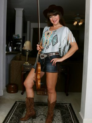 Ivana Plenty Naughty Cowgirl