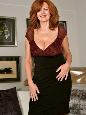 Andi James Voluptuous Redhead