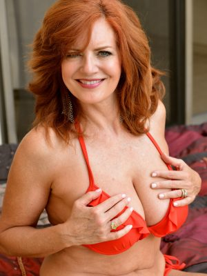 Andi James Blessed Sexy Redhead